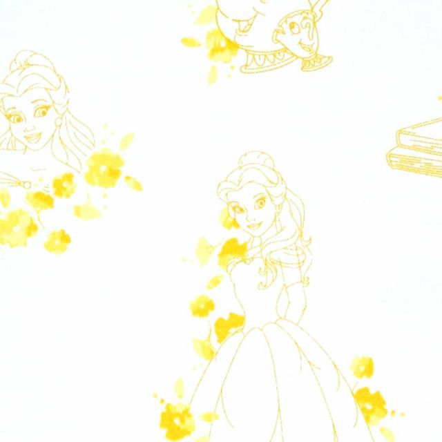 CA1024 Disney Forever Princess Snow White Toile in Red Camelot 100/% Cotton fabric by the yard