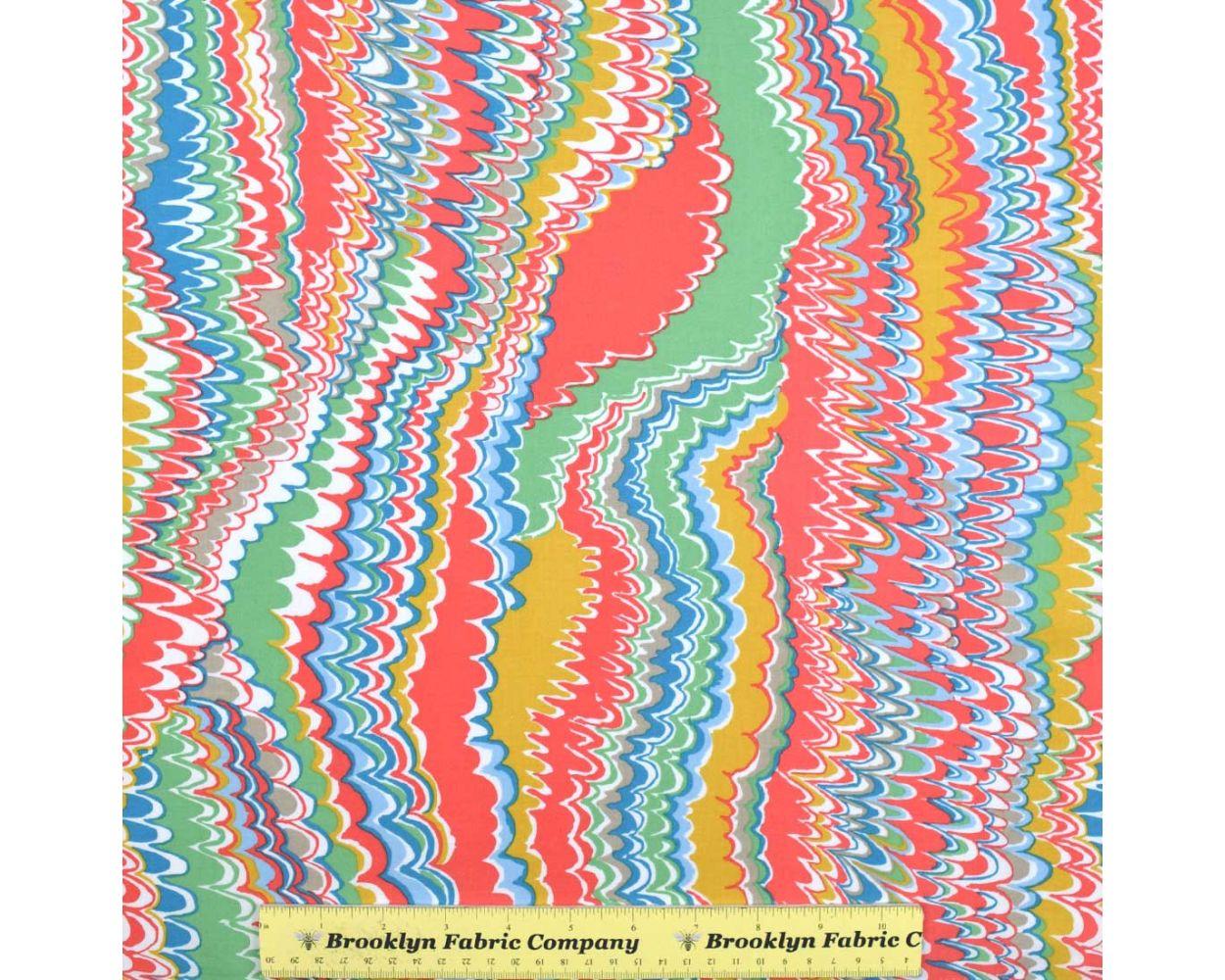 Kaffe Fassett Fall 2016 NEW PWGP159 End Papers MELON Collective Swirls New BTHY Rowan Westminster Fasset Half Yard 18 Quilt Fabric