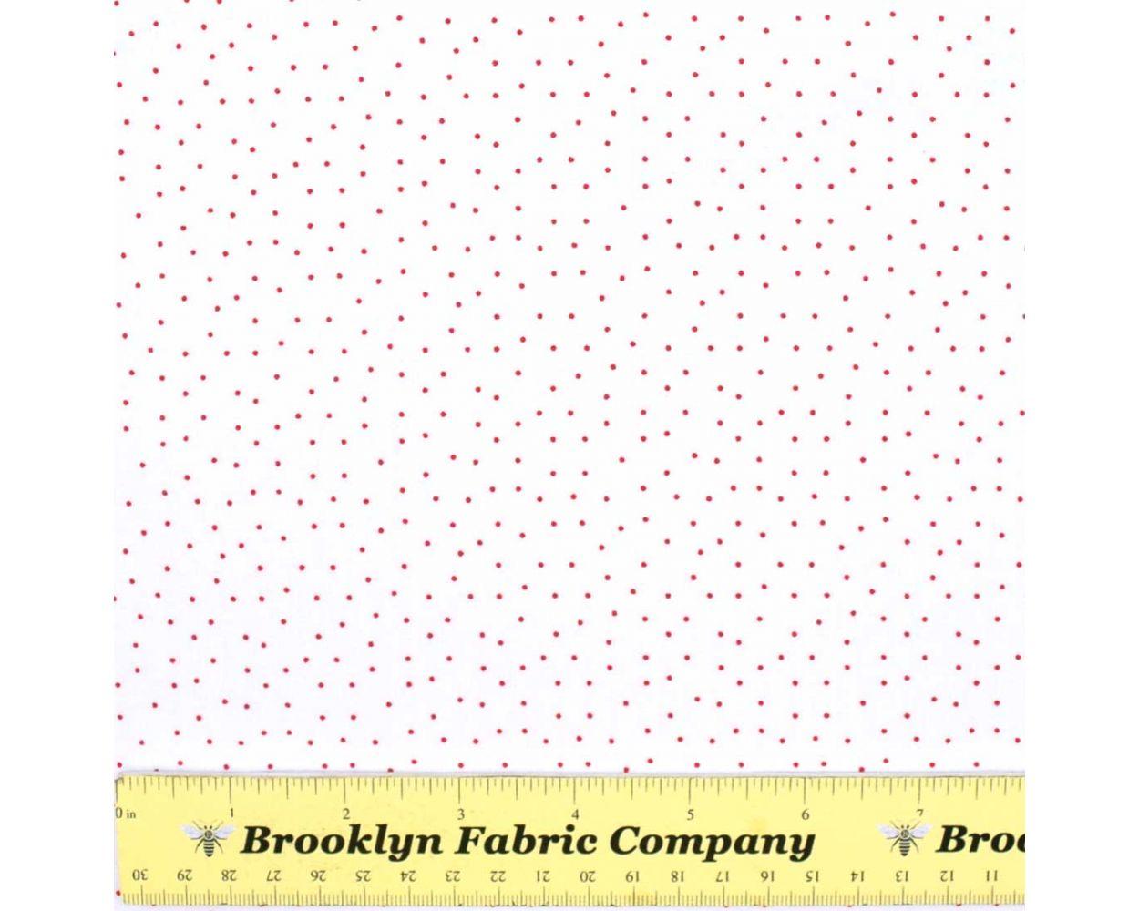 Tissu de Coton Fat Quarter Andover-Strawberry Jam-Dainty Diamants Rose