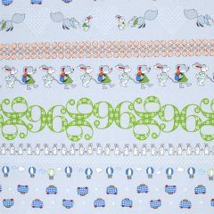 Stof Count on Me Border Print - Gray main