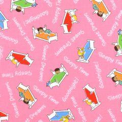 Windham Storybook Sleepytime Sweet Dreams - Pink