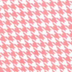 Maywood Studio Lil Sprout Too Flannel Houndstooth - White/Pink main
