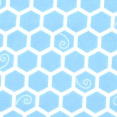 Maywood Studio Lil One Too Flannel Honeycomb - Blue main