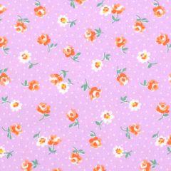 Robert Kaufman Naptime 3 Flower Toss - Lavender main