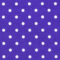 Timeless Treasures Polka Dot Basics Pin Dot - Purple main