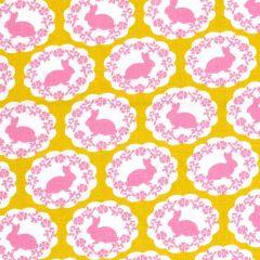 Free Spirit Darling Meadow Bunny - Mustard