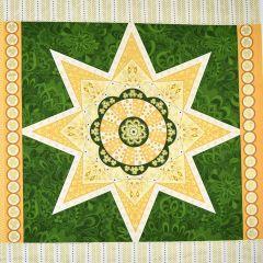 Benartex Jubilee Holiday Jubilee Ruler Pillow Panel - Green main