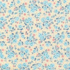 Makower UK Stitch in Time Ditzy Floral - Cream main