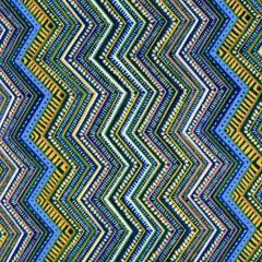 Oasis Boho Chic Zig Zag Lines - Blue main