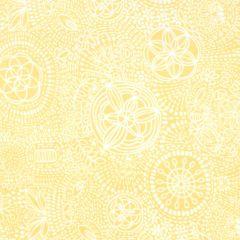 Oasis Boho Chic Dot Design - Yellow main