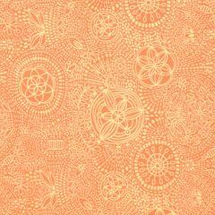 Oasis Boho Chic Dot Design - Orange