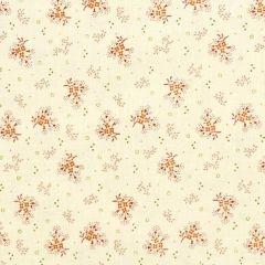 Henry Glass Buttermilk Autumn Mini Floral - Cream main