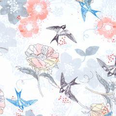 3 Wishes Marbella Bird Floral - White main