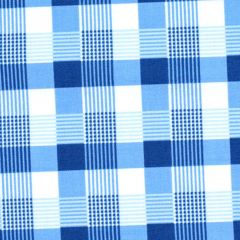Penny Rose May Belle Plaid - Blue