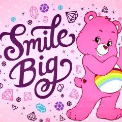 Camelot Care Bear Sparkle & Shine Smile Big Panel - Pink main