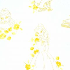 Camelot Disney Forever Princess Belle Toile - Yellow main