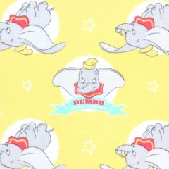 Camelot Disney Dumbo in the Circus Flying Elephant - Yellow
