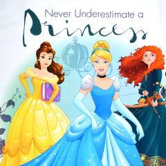 Camelot Disney Princess Strong Heart Never Underestimate Panel - Multi main