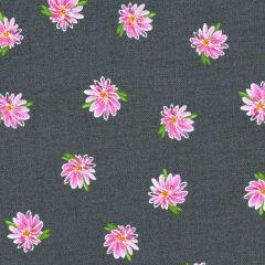 Windham Kaleidoscope Flowers - Charcoal