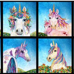 Blank Unicorn-Ocopia Digital Unicorn Blocks - Medium Blue main