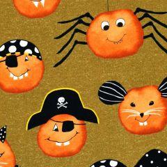Studioe Cheekyville Large Pumpkin Faces - Brown main