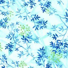 Maywood Studio Rejuvenation Delicate Leaves - Teal main