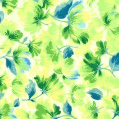 Maywood Studio Rejuvenation Feathered Flowers - Yellow