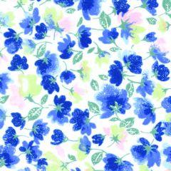 Maywood Studio Rejuvenation Little Flowers - Blue