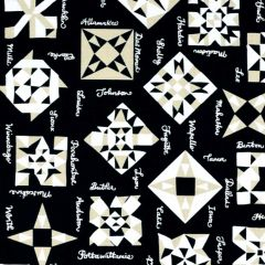 Windham All Iowa Shop Hop 2020 Quilt Block - Black main