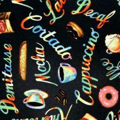 Blank Brewed Awakenings Coffee Words - Charcoal