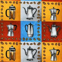 Blank Brewed Awakenings Coffee Pots  Block - Gray