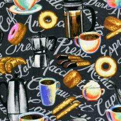 Blank Brewed Awakenings Coffee Motifs - Gray main