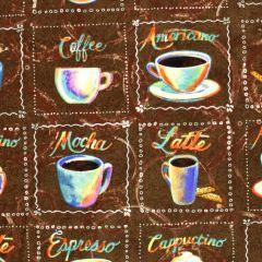 Blank Brewed Awakenings Coffee Names and Cups - Brown