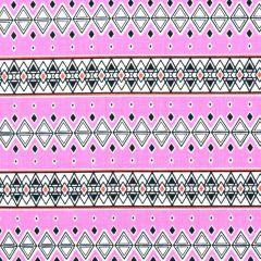 Michael Miller Born to be Wild Safari Stripe - Pink