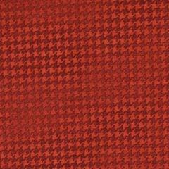 Benartex Harvest Berry Blushed Houndstooth - Dark Red main