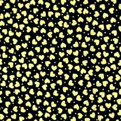 Kanvas Metallic Mixers  Metallic Hearts - Black/Gold main