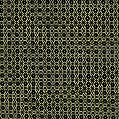 Kanvas Metallic Mixers  Metallic Foulard - Black/Gold main