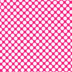 Clothworks Little Super Hero Grid Dots - Fuchsia