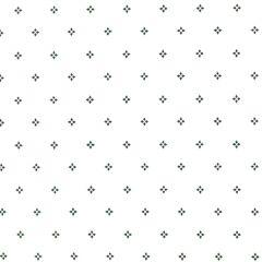 Clothworks Wintertide Geo Dot - Light Forest