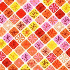 Contempo Fandangle Sparkling Squares - Orange/Multi main