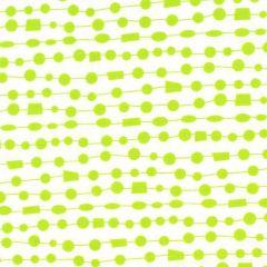 Contempo Fandangle Beaded Curtain - Lime/White