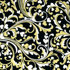 Kanvas Cherish Cherish Scroll - Black/White