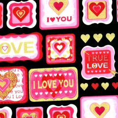Kanvas Cherish True Love Patch - Black