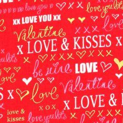 Kanvas Cherish Love Words - Red