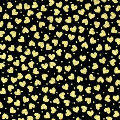 Kanvas Cherish Mini Hearts - Black
