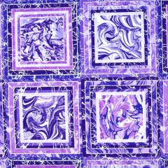 Henry Glass Pearl Luxe II Marble Blocks - Purple main