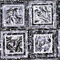 Henry Glass Pearl Luxe II Marble Blocks - Onyx main