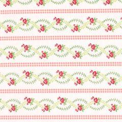 Henry Glass Violets Garden Stripe - Tea Rose main