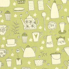 Henry Glass Tealicious Monotone Tea Cups and Tea Pots - Sage main