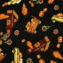 Henry Glass Country Journey Small Novelty Fall - Black main